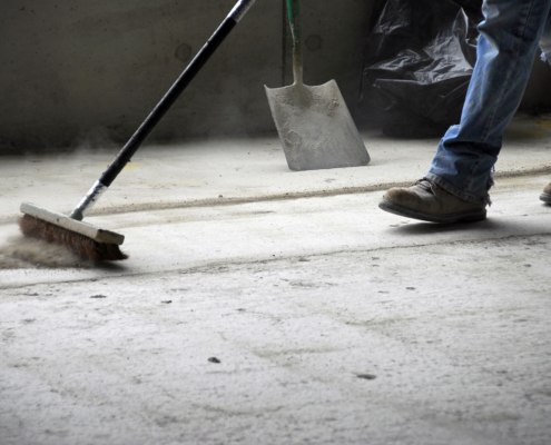 Sweeping and Shoveling